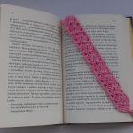 szydełkowane zakładki do książek